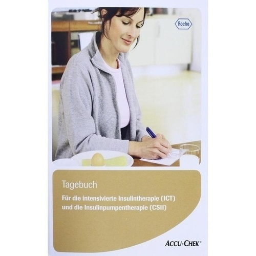Diabetiker Tagebuch ICT, 1 ST, Roche Diabetes Care Deutschland GmbH