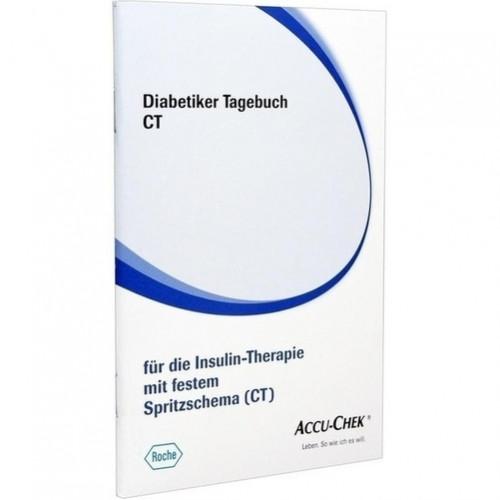 Diabetiker Tagebuch CT, 1 ST, Roche Diabetes Care Deutschland GmbH