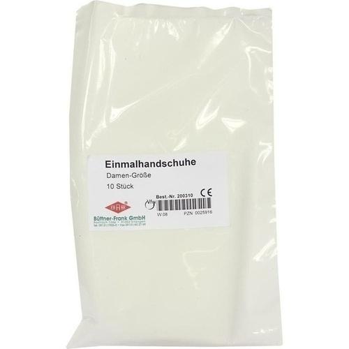 Einmal Handschuhe Untersuchung Damen, 10 ST, Büttner-Frank GmbH