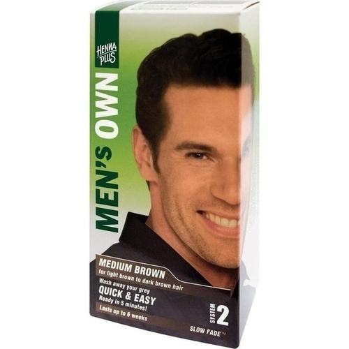 Mens Own Medium Brown, 80 ML, Frenchtop Natural Care Products B.V