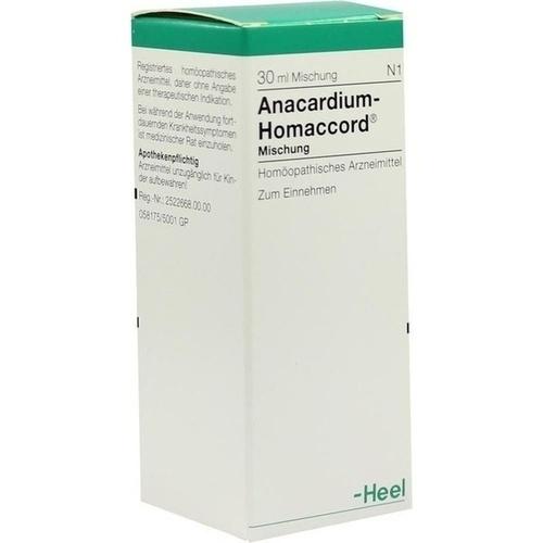 ANACARDIUM HOMACCORD, 30 ML, Biologische Heilmittel Heel GmbH
