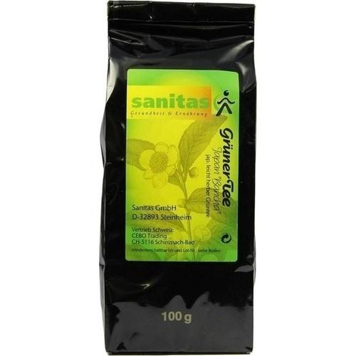 Grüner Tee-Japan Bancha, 100 G, Sanitas GmbH & Co. KG
