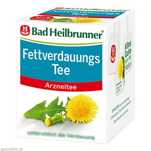 Bad Heilbrunner Fettverdauungstee, 8X1.8 G, Bad Heilbrunner Naturheilmittel GmbH & Co. KG