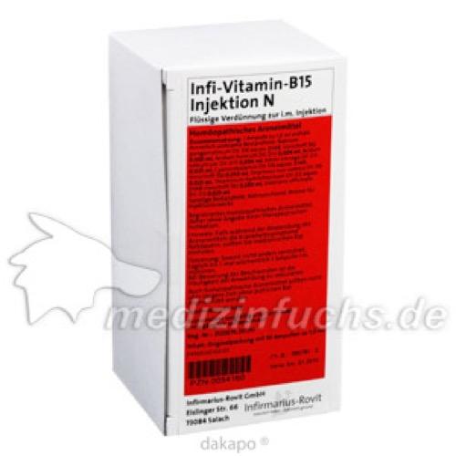 Infi-Vitamin-B15-Injektion N, 50X1 ML, Infirmarius GmbH