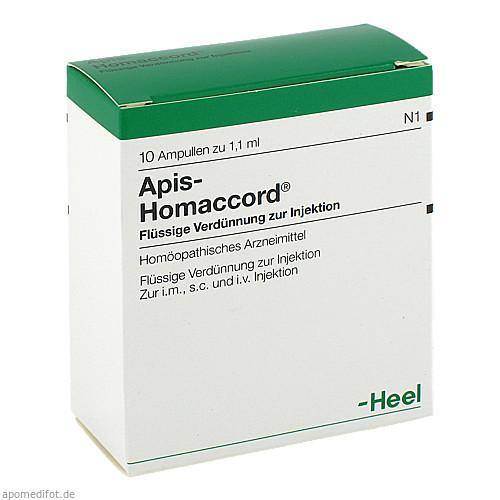 APIS HOMACCORD, 10 ST, Biologische Heilmittel Heel GmbH