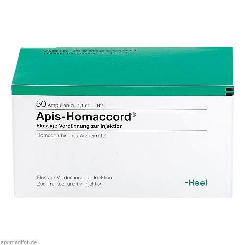 APIS HOMACCORD, 50 ST, Biologische Heilmittel Heel GmbH