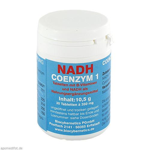 NADH COENZYM 1, 30 ST, Biocybernetics Pgmbh