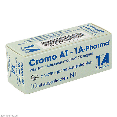 Cromo AT-1A-Pharma, 10 ML, 1 A Pharma GmbH