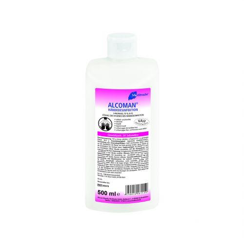 Alcoman Händedesinfektion, 500 ML, Meditrade GmbH