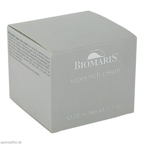 BIOMARIS super rich cream mit Parfum, 50 ML, BIOMARIS GmbH & Co. KG