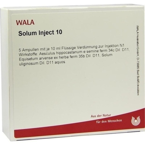 Solum Inject 10, 5X10 ML, Wala Heilmittel GmbH