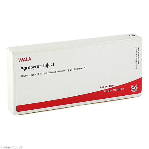 Agropyron Inject, 10X1 ML, Wala Heilmittel GmbH