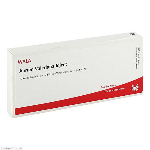 Aurum Valeriana Inject, 10X1 ML, Wala Heilmittel GmbH