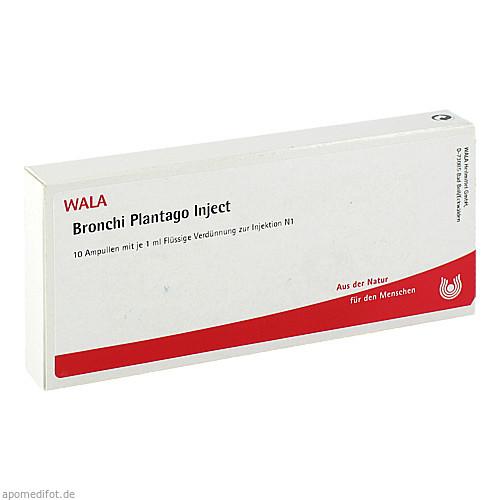 Bronchi Plantago Inject, 10X1 ML, Wala Heilmittel GmbH