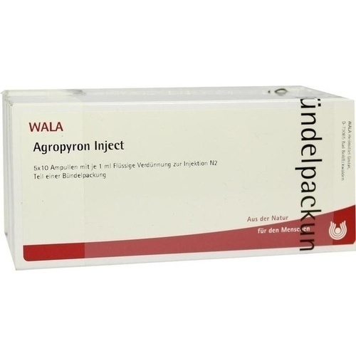 Agropyron Inject, 50X1 ML, Wala Heilmittel GmbH