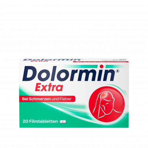 Dolormin extra, 20 ST, Johnson & Johnson GmbH (Otc)
