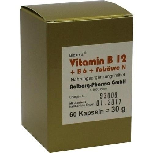 Vitamin B12 + B6 + Folsäure Komplex N, 60 ST, Aalborg Pharma GmbH
