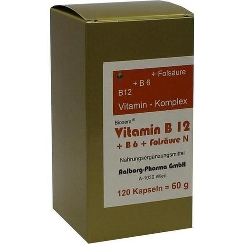 Vitamin B12 + B6 + Folsäure Komplex N, 120 ST, Fbk-Pharma GmbH