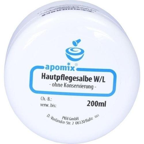 Hautpflegesalbe W/L ohne Konservierung, 200 ML, Apomix Pkh Pharmazeutisches Labor GmbH