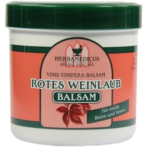 Rotes Weinlaub Balsam Herbamedicus, 250 ML, Axisis GmbH