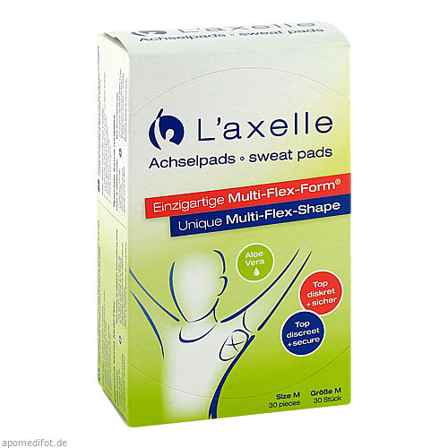 Laxelle M Achselpads Aloe Vera, 30 ST, Functional Cosmetics Company AG