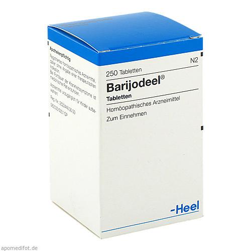 BARIJODEEL Tabletten, 250 ST, Biologische Heilmittel Heel GmbH