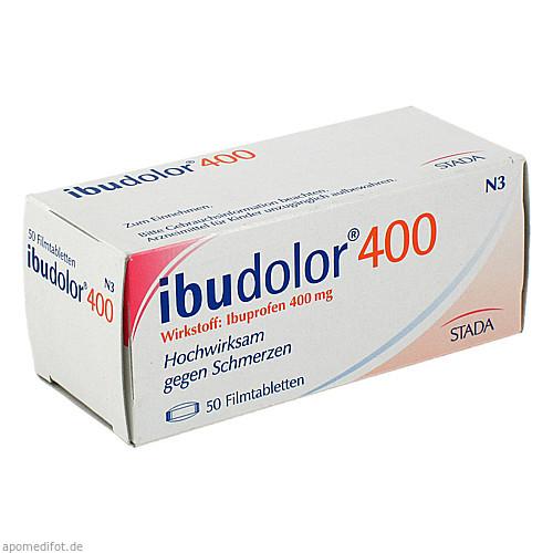 IBUDOLOR 400 Filmtabletten, 50 ST, STADA GmbH