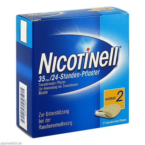 Nicotinell 35MG 24 Stunden Pflaster TTS20, 21 ST, GlaxoSmithKline Consumer Healthcare