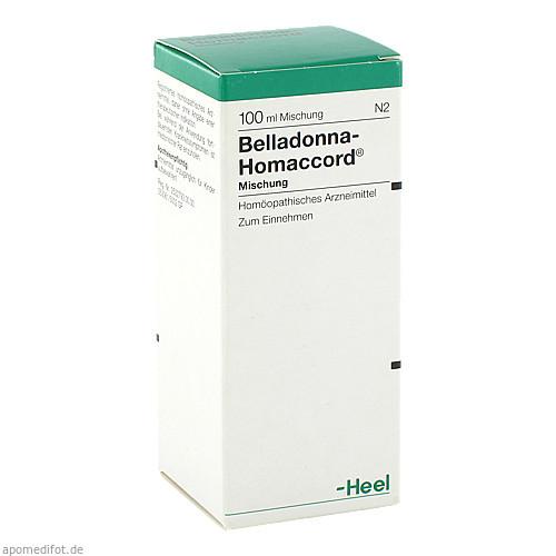 BELLADONNA HOMACCORD, 100 ML, Biologische Heilmittel Heel GmbH