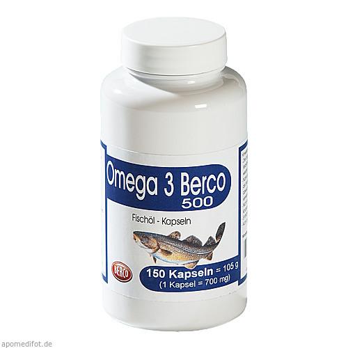 Omega 3 Berco 500, 150 ST, Berco-ARZNEIMITTEL