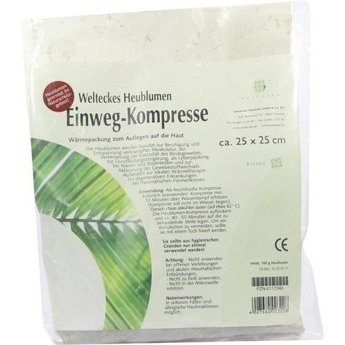 Heublumen Einweg-Kompresse 25x25cm, 1 ST, Alexander Weltecke GmbH & Co. KG