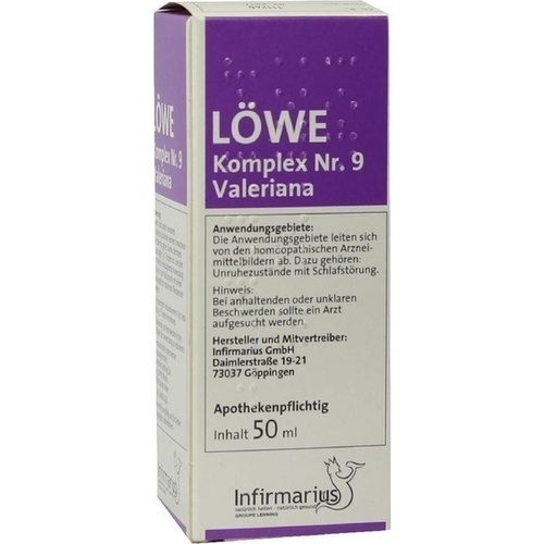 LÖWE-Komplex Nr.9 Valeriana, 50 ML, Infirmarius GmbH