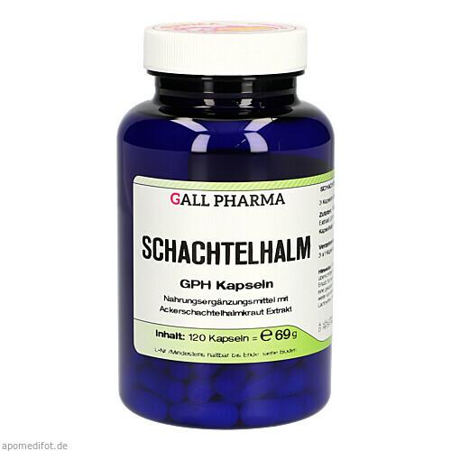 SCHACHTELHALM-KAPSELN, 120 ST, Hecht-Pharma GmbH