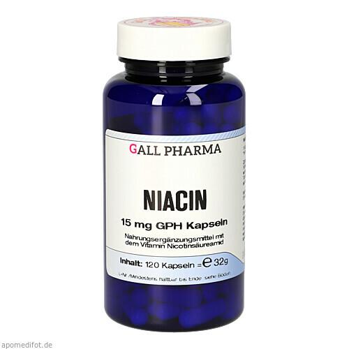 NIACIN 15mg Kapseln, 120 ST, Hecht-Pharma GmbH