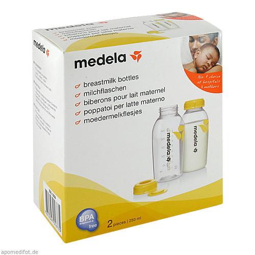 Medela Milchflaschenset 250ml, 2 ST, Medela Medizintechnik GmbH & Co. Handels KG