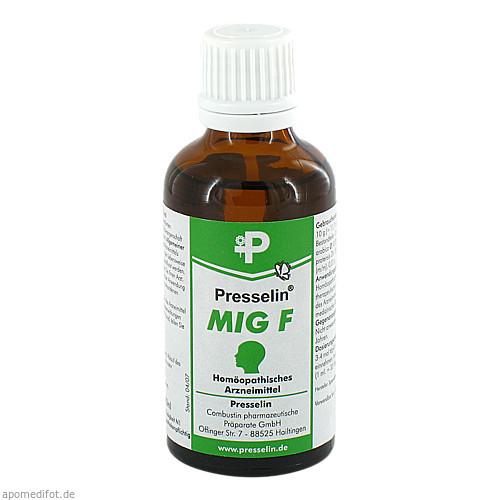 Presselin MIG F, 50 ML, COMBUSTIN Pharmazeutische Präparate GmbH