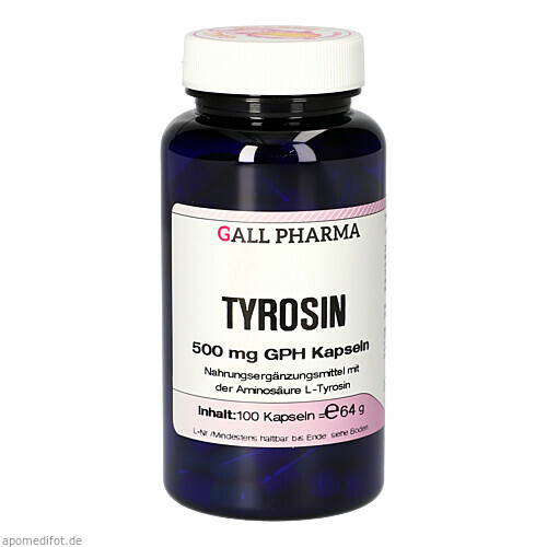 Tyrosin 500 mg GPH Kapseln, 100 ST, Hecht-Pharma GmbH