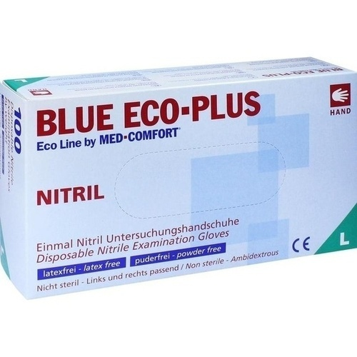 Einmal Handschuhe Nitril blau L, 100 ST, Param GmbH
