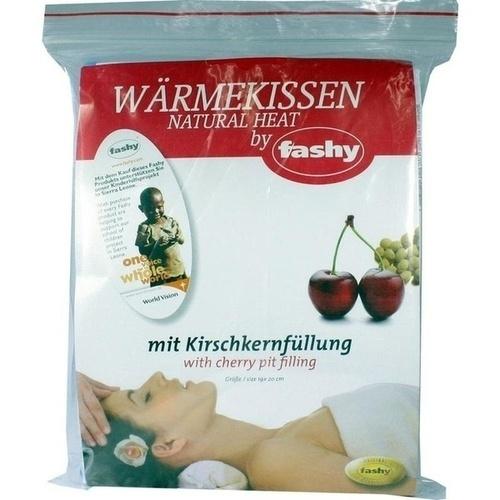 KIRSCHKERNKISSEN Karobezug aus Baumwollmischgewebe, 1 ST, Fashy GmbH