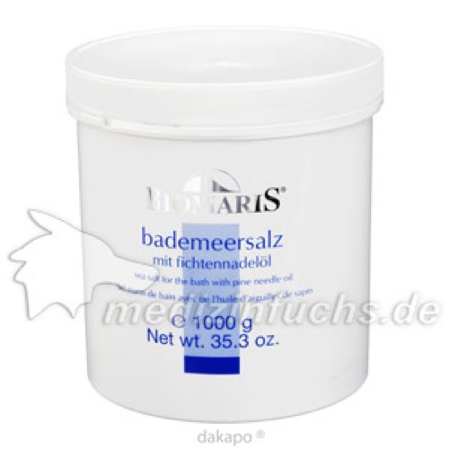 BIOMARIS BADE MEERSALZ FIC, 1 KG, Biomaris GmbH & Co. KG