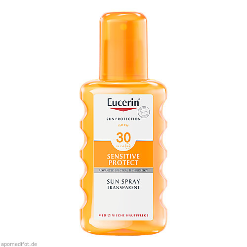 Eucerin Sun Transparent Spray LSF 30, 200 ML, Beiersdorf AG Eucerin