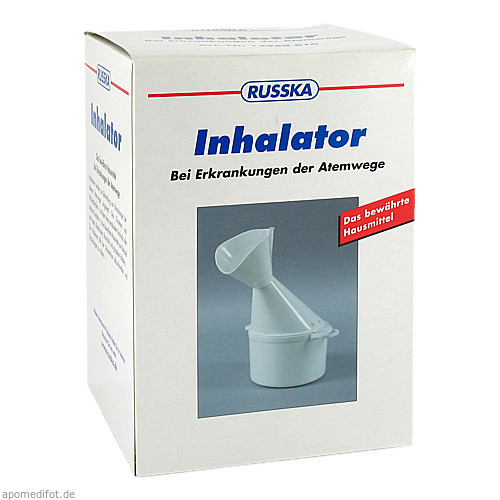 Inhalator neu, 1 ST, RUSSKA LUDWIG BERTRAM GMBH