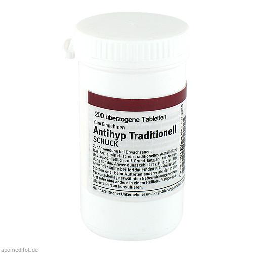 Antihyp Traditionell Schuck, 200 ST, Schuck GmbH Arzneimittelfabrik
