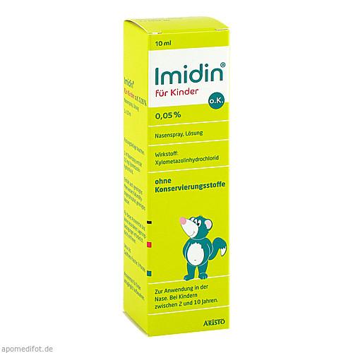 IMIDIN für Kinder o.K. 0,05% Nasenspray, 10 ML, Aristo Pharma GmbH