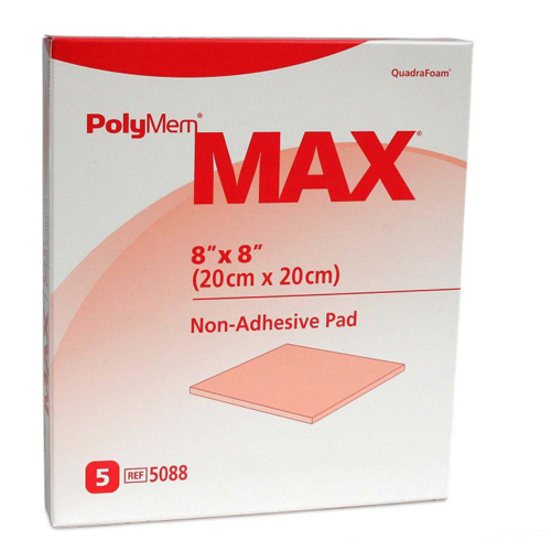 PolyMem Max 20x20cm, 5 ST, Mediset Clinical Products GmbH