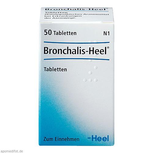 BRONCHALIS HEEL, 50 ST, Biologische Heilmittel Heel GmbH