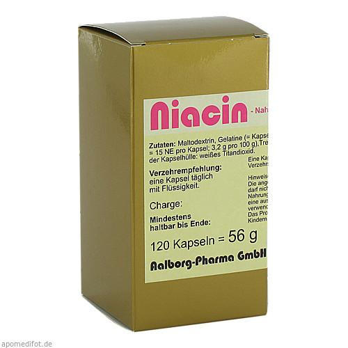 Niacin, 120 ST, Fbk-Pharma GmbH