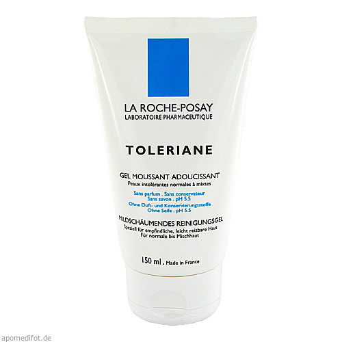 Roche Posay Toleriane Reinigungsgel, 150 ML, L'oreal Deutschland GmbH