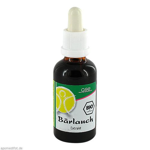 Bärlauch Extr. Bio 23% V/V, 50 ML, Gse Vertrieb Biologische Nahrungsergänzungs- & Heilmittel GmbH