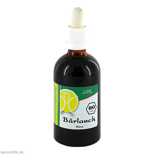 Bärlauch Extr. Bio 23% V/V, 100 ML, Gse Vertrieb Biologische Nahrungsergänzungs- & Heilmittel GmbH